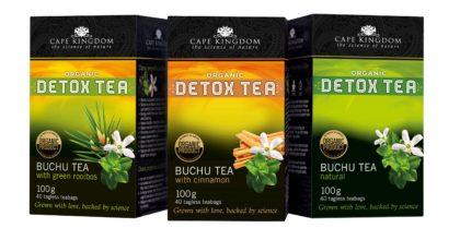 Buchu Tea is good to kickstart your detox