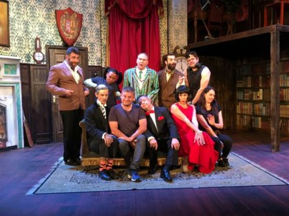 The Play That Goes Wrong promises mayhem on stage