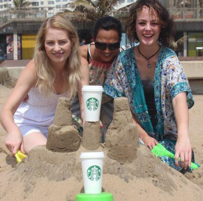 Durbanites invited to take part in Starbucks sandcastle challenge on November 18