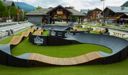 Longest Pump Track in the World at Sun Park, GrandWest this Holiday