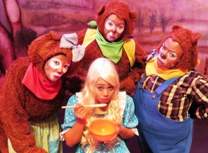 Goldilocks and the Three Bears for the kiddies this festive season
