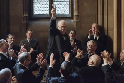Darkest Hour opens at the movies this week