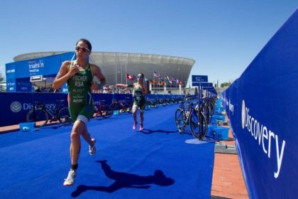 World's top triathletes in Cape Town for Discovery Triathlon World Cup