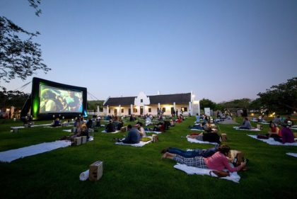 Get romantic on Valentine's Day with an outdoor movie screening