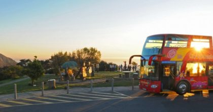 Hop on City Sightseeing's Sunset Tour for a touch of romance
