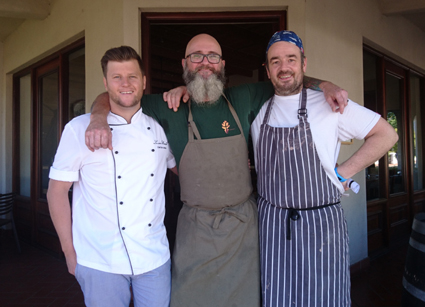 Franschoek chefs and restaurants