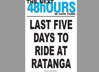 Last five days to ride at Ratanga Junction