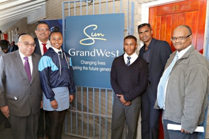 Saxonsea High School receives a little help from some friends