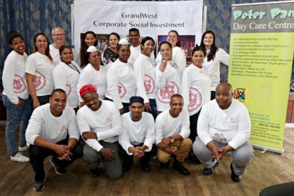 GrandWest donates valuable class equipment to Down syndrome centre
