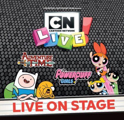 Cartoon Network's popular heroes Live!