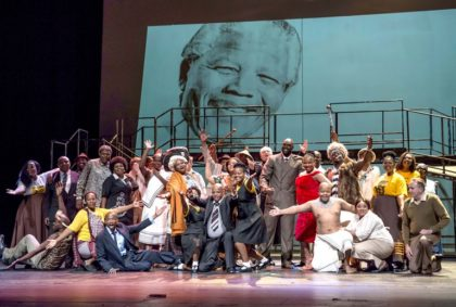 Paying tribute to SA's international icon, Nelson Rolihlahla Mandela, in song