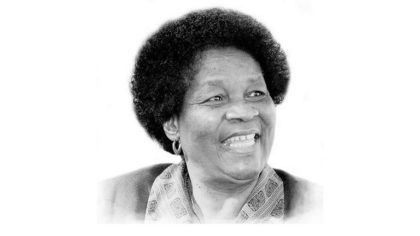 Ma Albertina Sisulu-one of the Festival Icons at AWHAF2018