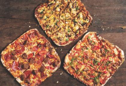 Celebs square off in pizza showdown at Col'Cacchio