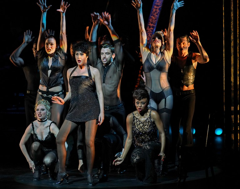 Samantha Peo & Ensemble, CHICAGO The Musical, Credit- David Watson 2019