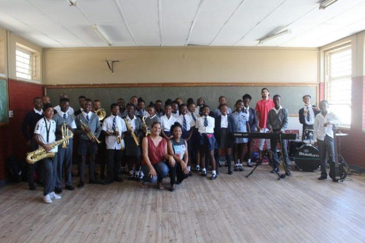 Bridgetown High school group photo
