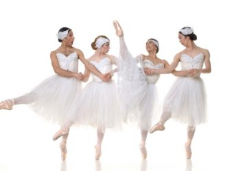 Dancers from Men In Tutus