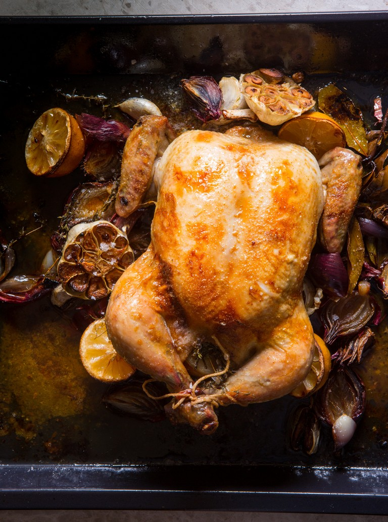 Roast Chicken how Mom used to make it by Jenny Morris