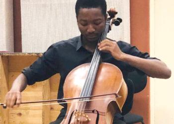 Nigerian cellist Nwuko Sunday Kelechi