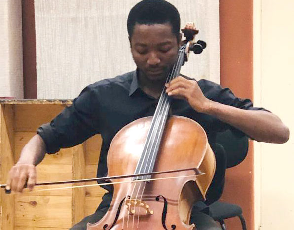 FREE lunch hour concert featuring Nigerian cellist at Artscape