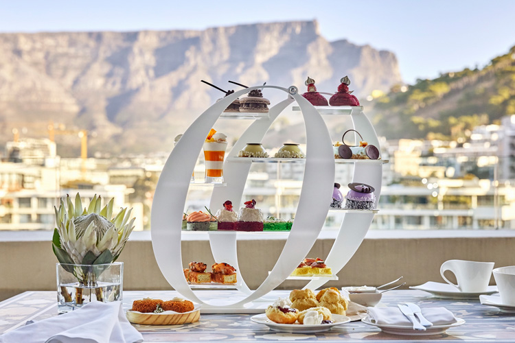 High Tea at One & Only Cape Town on Valentine's