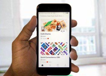 Bolt Food app view